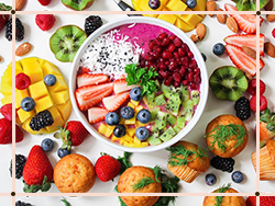 FRUITS, VEGETABLES AND NUTS